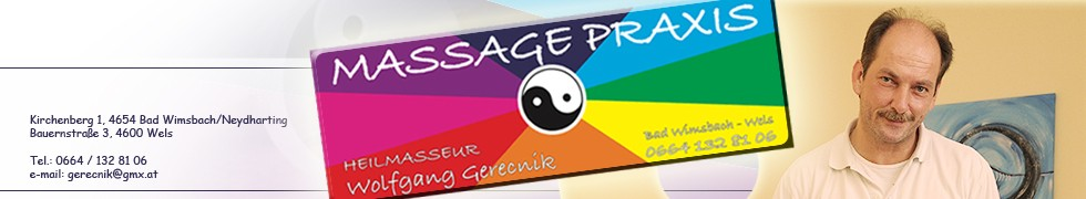 Massage Praxis Banner