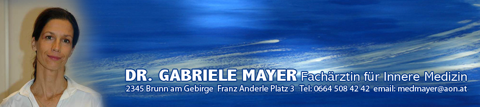 Dr. Gabriele Mayer - Internistin in Brunn am Gebirge
