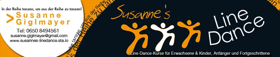 line dance banner fertig