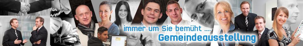 Banner Team - Gemeindeausstellung