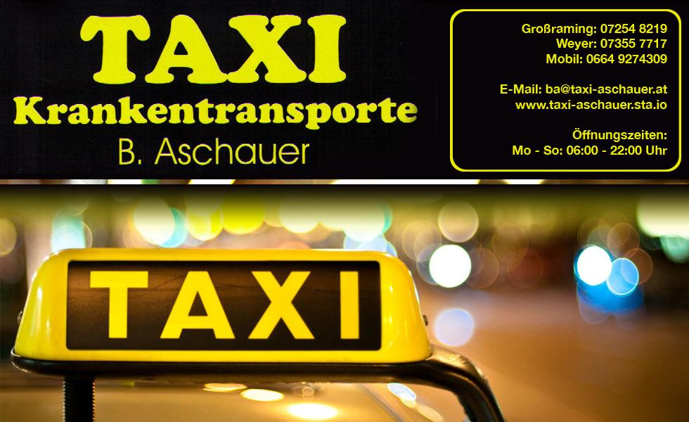 Taxi Krankentransporte B. Aschauer