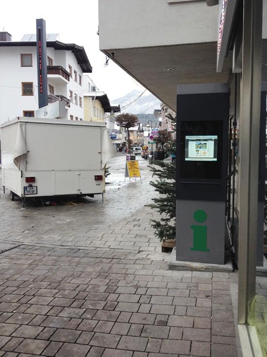 Inbetriebnahme Infopoint Wörgl Bild 1