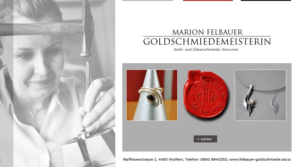 felbauer gold schmiede NEU