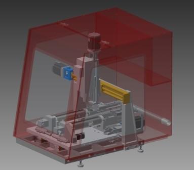 3D Fräse Prototyp (2)