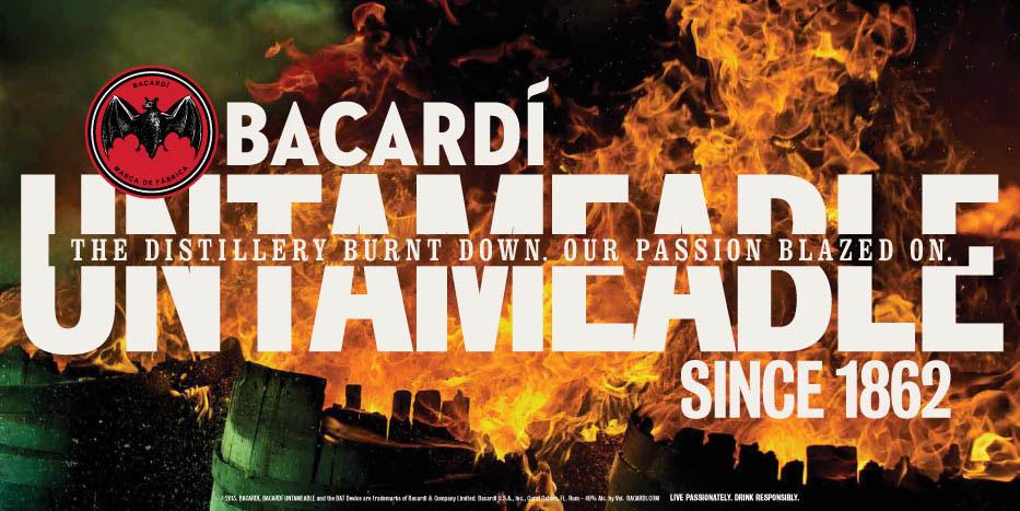 LR BACARDI   FIRE 48SHT