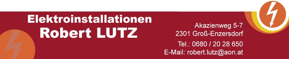 elektroinstallationen robert lutz Banner