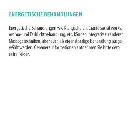 energetische behandlungen