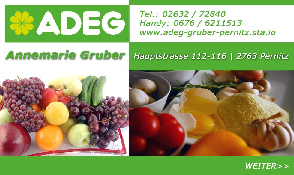 Annermarie Gruber ADEB Start