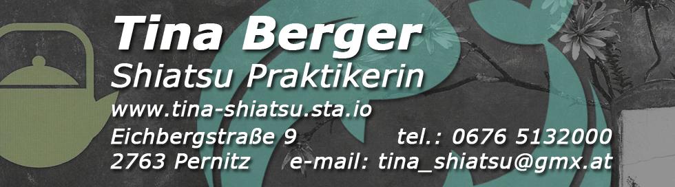 Tina Berger Banner