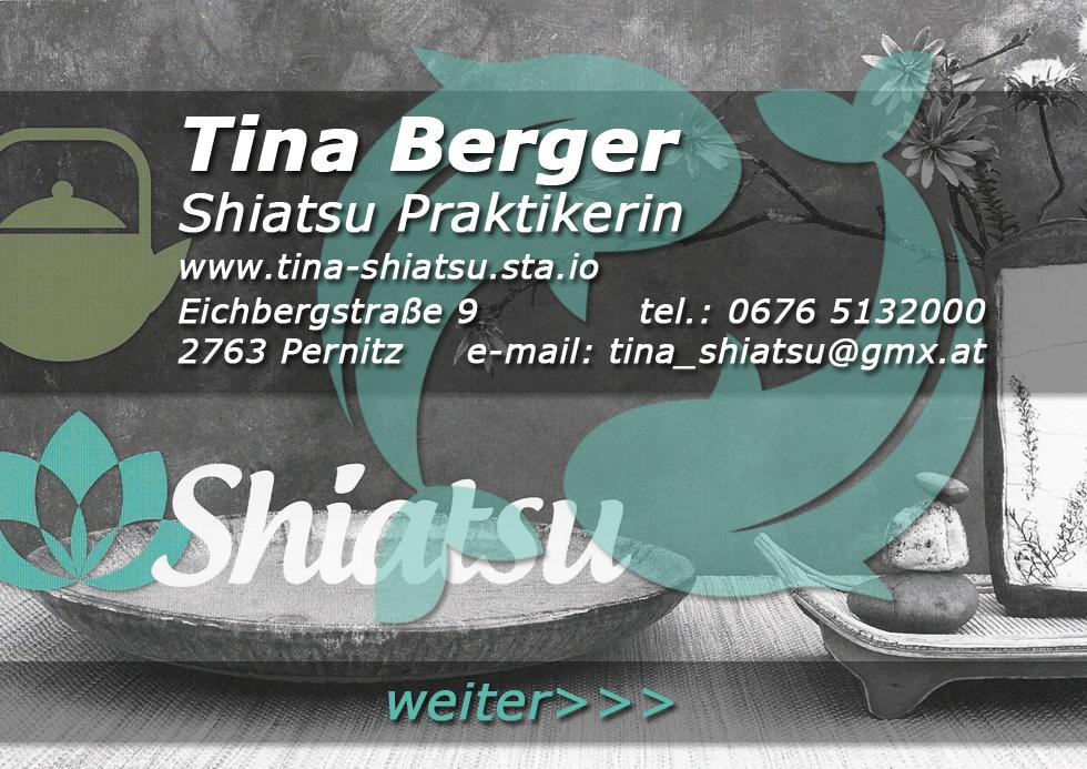 Tina Berger Start