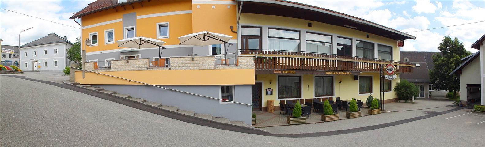 Aussenansicht Gasthaus Schmalzer