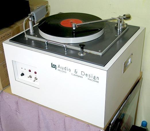 Vinylwaschmaschine