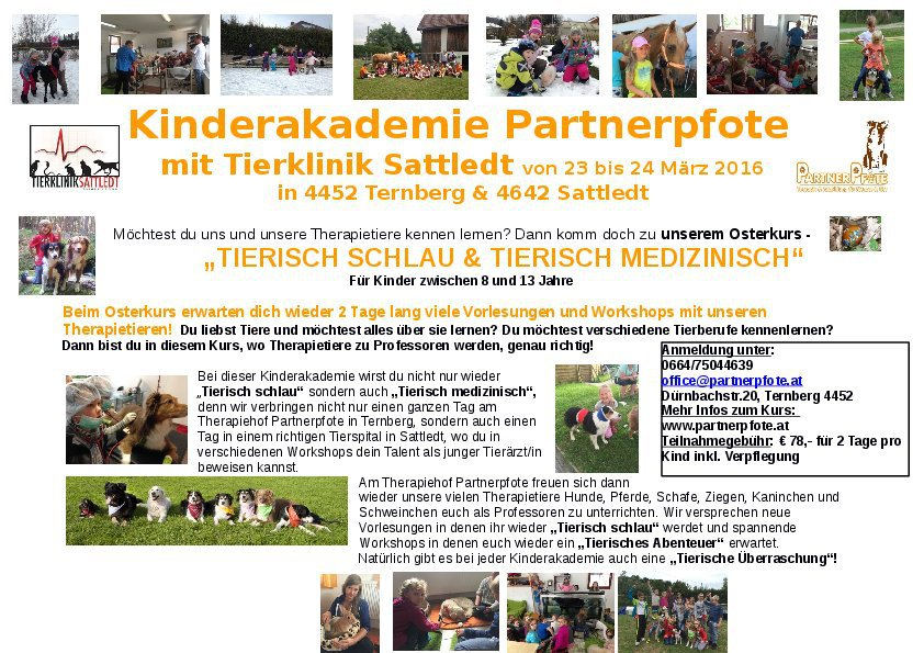 Kinderakademie Partnerpfote März 2016