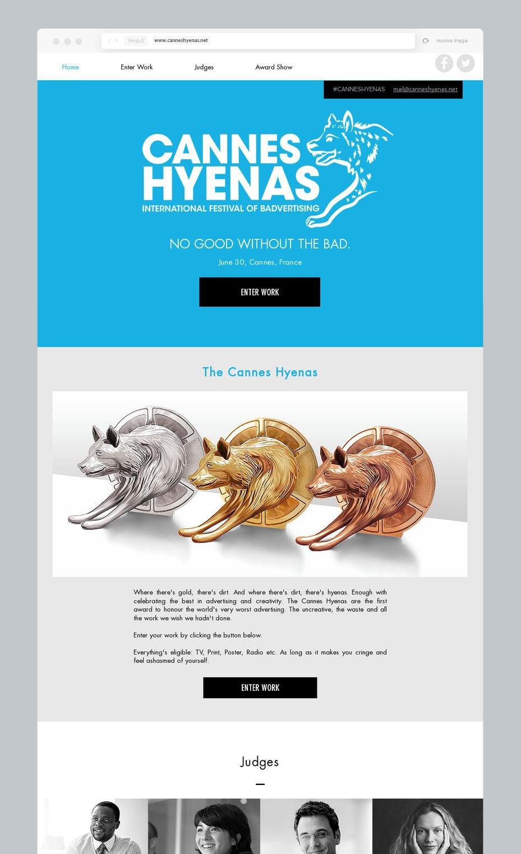 hyenas mockup