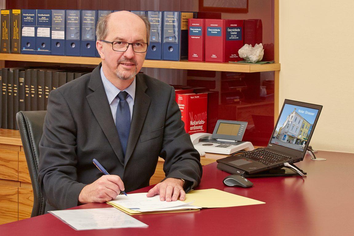 Mag. Karl Strasser Zur Person