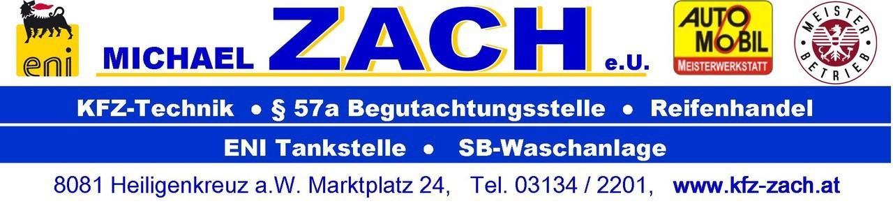 Michael Zach | Kfz-Technik * Tankstelle * SB-Wäsche * §57a Begutachtungen * Reifenhandel