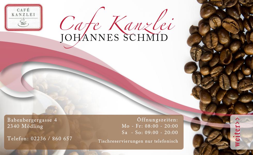Cafe Kanzlei   Johannes Schmid