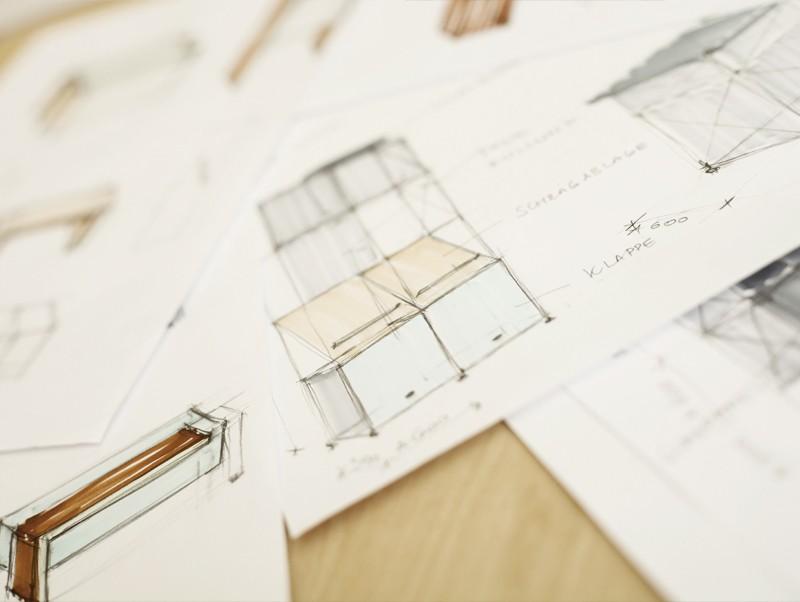Architektur und Konzept web