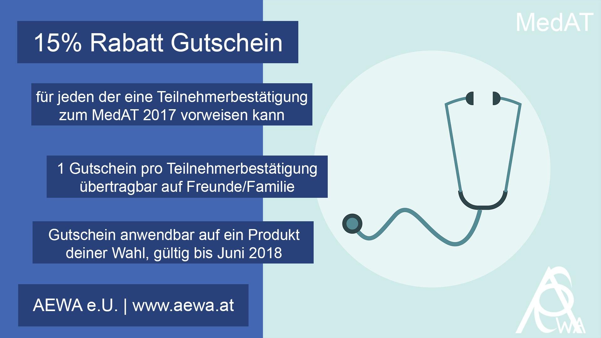 MedAT2017 Gutschein