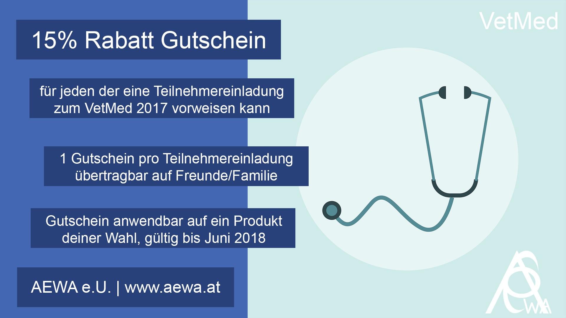 VetMed2017 Gutschein