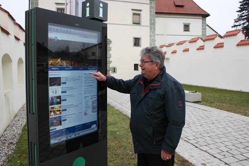 Inbetriebnahme 28.11.2017 durch Bürgermeister OSR Gottfried Wedenig
