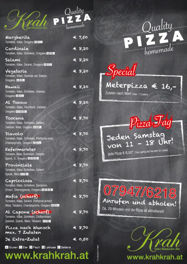 pizzakarte 2018