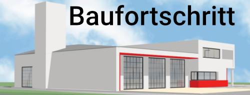 Feuerwehrhaus Neu Baufortschritt