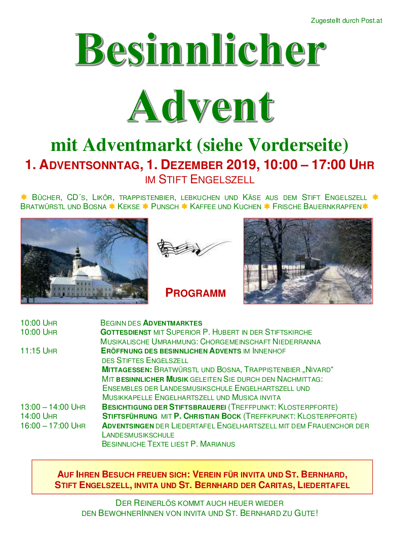 besinnlicher advent