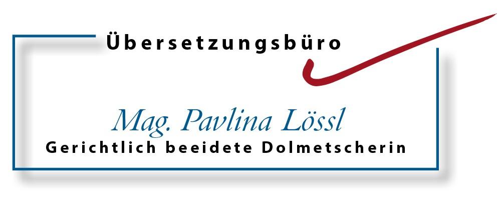 Übersetzungs Büro Mag. Pavlina Böhmova-Lössl